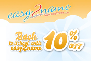 Save 10% at Easy2Name with Back-2-School uniform labels