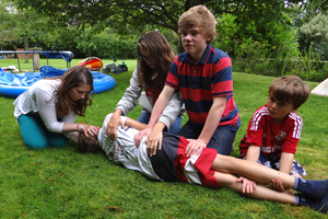 Why first aid skills are important for older children and teenagers