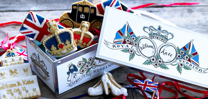 The Biscuiteers Wedding Tin